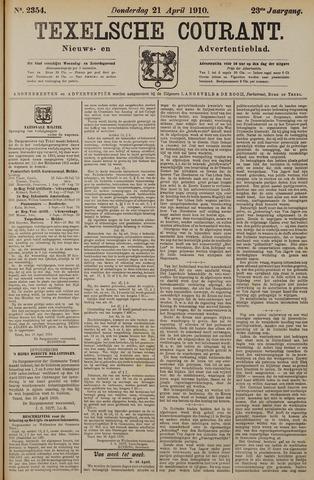 Texelsche Courant 1910-04-21