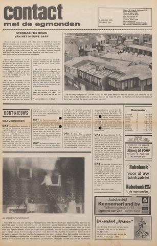 Contact met de Egmonden 1976-01-07