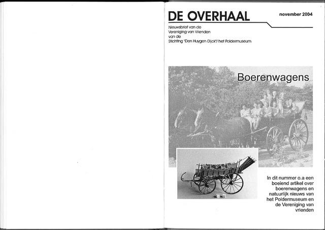 De Overhaal: historisch magazine Heerhugowaard 2004-11-01