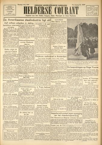 Heldersche Courant 1949-10-03
