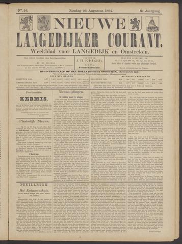 Nieuwe Langedijker Courant 1894-08-26