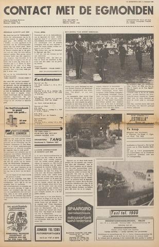 Contact met de Egmonden 1971-08-11