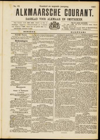 Alkmaarsche Courant 1907-01-15