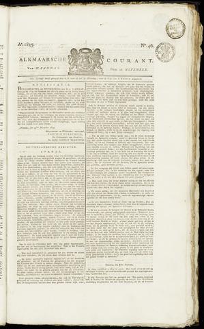 Alkmaarsche Courant 1835-11-16