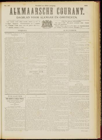 Alkmaarsche Courant 1909-10-22