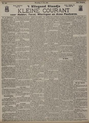 Vliegend blaadje : nieuws- en advertentiebode voor Den Helder 1908-06-17