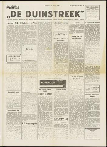De Duinstreek 1956-09-28
