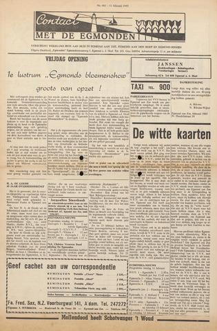 Contact met de Egmonden 1965-02-11