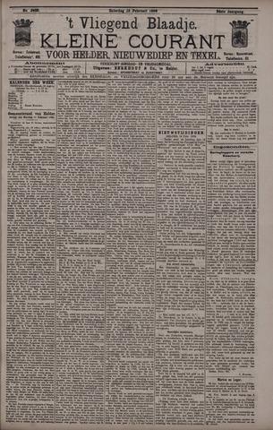 Vliegend blaadje : nieuws- en advertentiebode voor Den Helder 1896-02-15