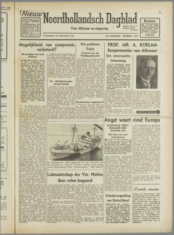 Nieuw Noordhollandsch Dagblad : voor Alkmaar en omgeving 1946-08-28