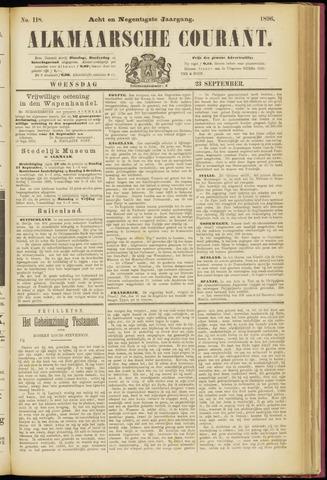 Alkmaarsche Courant 1896-09-23
