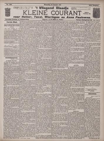 Vliegend blaadje : nieuws- en advertentiebode voor Den Helder 1913-01-22