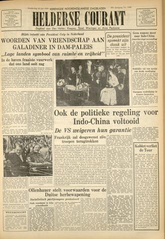 Heldersche Courant 1954-07-22