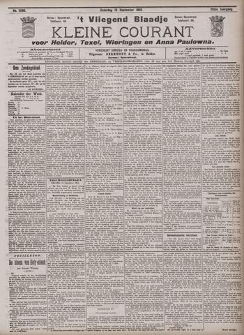 Vliegend blaadje : nieuws- en advertentiebode voor Den Helder 1902-09-13