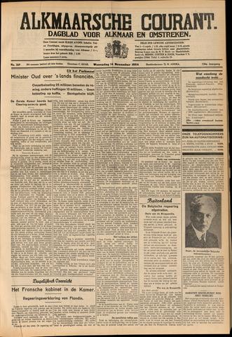 Alkmaarsche Courant 1934-11-14
