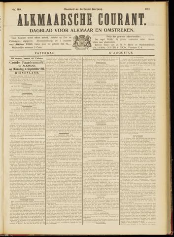 Alkmaarsche Courant 1911-08-12