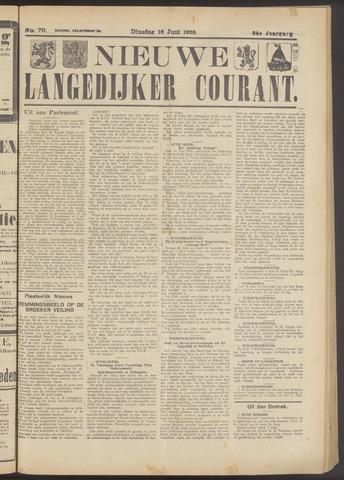 Nieuwe Langedijker Courant 1925-06-16