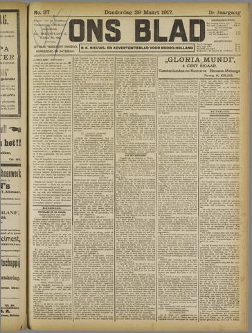 Ons Blad : katholiek nieuwsblad voor N-H 1917-03-29