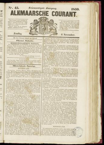 Alkmaarsche Courant 1859-11-06