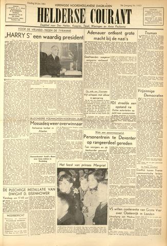 Heldersche Courant 1953-01-20
