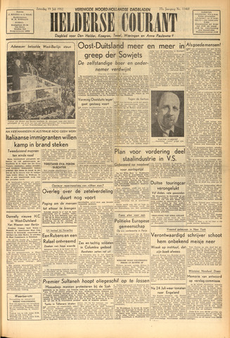 Heldersche Courant 1952-07-19