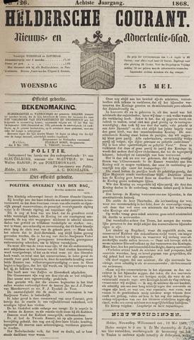 Heldersche Courant 1868-05-13