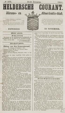 Heldersche Courant 1866-11-24