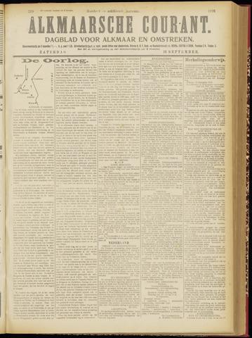 Alkmaarsche Courant 1916-09-16