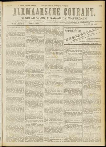 Alkmaarsche Courant 1919-10-22