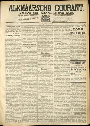 Alkmaarsche Courant 1933-03-18