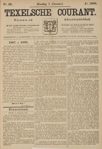 Texelsche Courant 1888