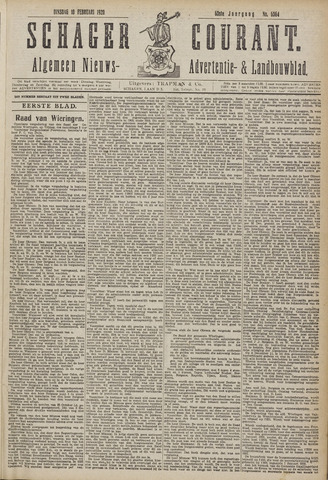 Schager Courant 1920-02-10