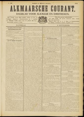 Alkmaarsche Courant 1913-09-06