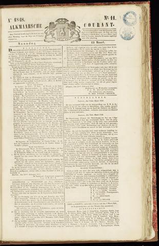 Alkmaarsche Courant 1848-03-13