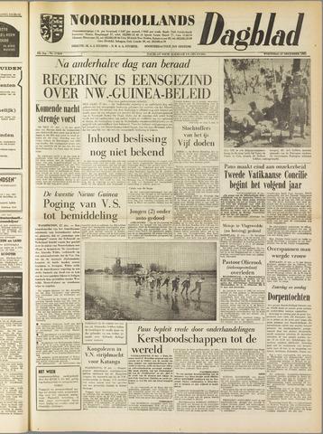 Noordhollands Dagblad : dagblad voor Alkmaar en omgeving 1961-12-27