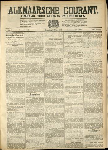 Alkmaarsche Courant 1933-03-13