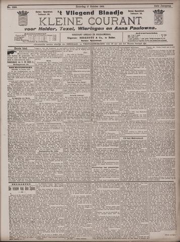 Vliegend blaadje : nieuws- en advertentiebode voor Den Helder 1903-10-17