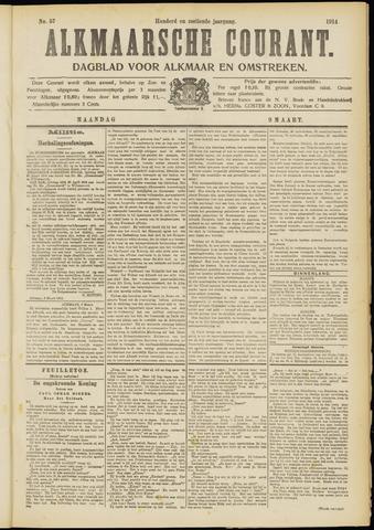Alkmaarsche Courant 1914-03-09