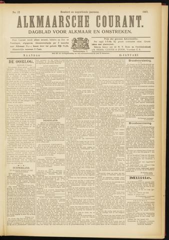 Alkmaarsche Courant 1917-01-15