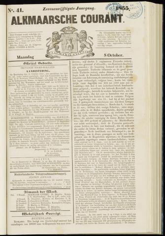 Alkmaarsche Courant 1855-10-08