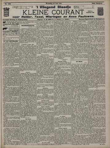 Vliegend blaadje : nieuws- en advertentiebode voor Den Helder 1910-06-22