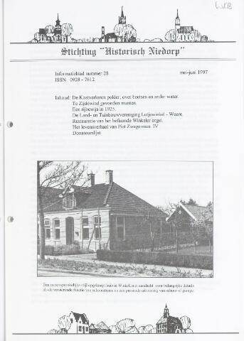 Informatieblad stichting Historisch Niedorp 1997-05-01