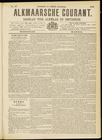Alkmaarsche Courant 1906-04-25