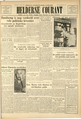 Heldersche Courant 1955-04-19