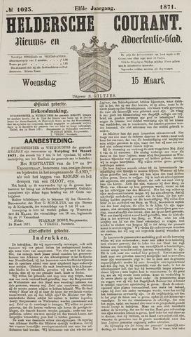 Heldersche Courant 1871-03-15
