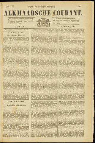 Alkmaarsche Courant 1887-12-11