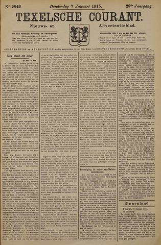 Texelsche Courant 1915-01-07