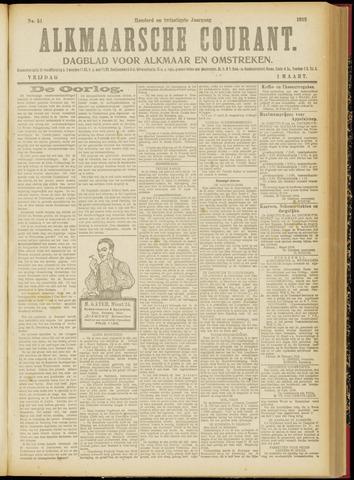 Alkmaarsche Courant 1918-03-01