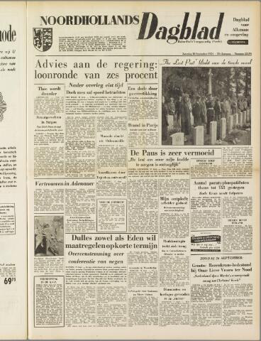 Noordhollands Dagblad : dagblad voor Alkmaar en omgeving 1954-09-18