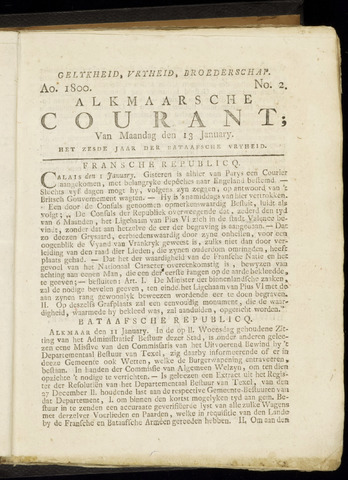 Alkmaarsche Courant 1800-01-13